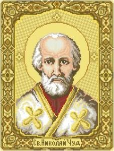 Схема Икона Святой Николай
