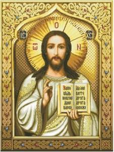 Схема Икона Господь Вседержитель