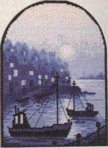 Схема Залив / Harbour Scene