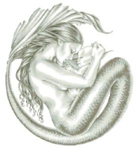 Схема Мама-русалка
