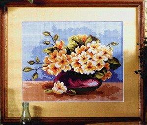 Схема Цветочная ваза / Polish Flower Vase Marzec