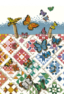 Схема Бабочки и орнамент