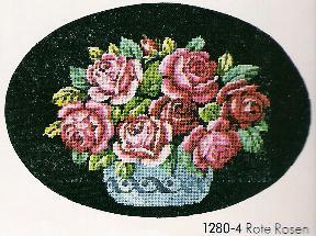 Схема Красные розы / Wiehler 1280-4 Roste Rosen