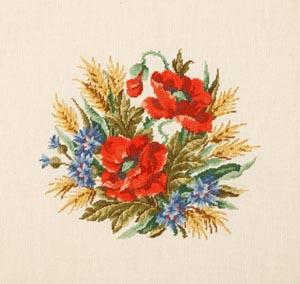 Схема Букет диких цветов / Wiehler 3674-6 Bouquet of Wild Flowers