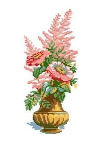 Схема Ваза с цветами