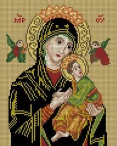 Схема Икона Богородица «СТРАСТНАЯ»