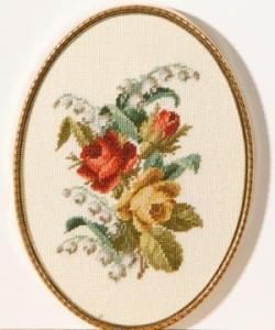 Схема Букет роз / Wiehler 3677-9 Bouquet of Roses
