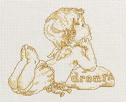 Схема Золотые слова - Мечта / Words of Gold - Dream