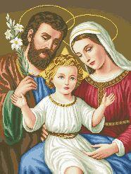 Схема Икона Святое семейство