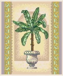 Схема Элегантная пальма