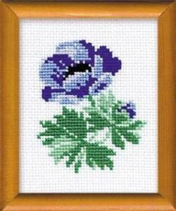Схема Голубой цветочек