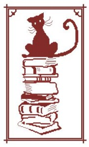 Схема Кошка на книгах