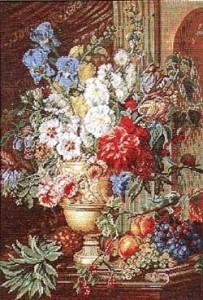 Схема Цветочный натюрморт / Wiehler 3698-6 Floral Still Life