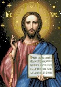 Схема Икона Благословение Христа