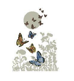 Схема Легкие бабочки