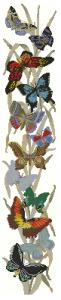 Схема Панель с бабочками