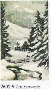 Схема Волшебный лес / Wiehler 2602-9 Zauberwald
