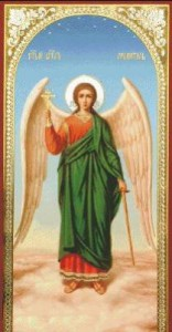 Схема Икона Ангел-хранитель