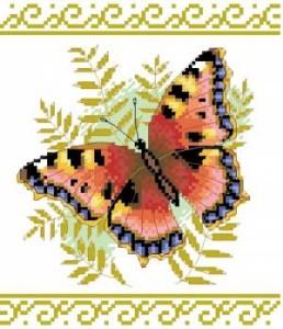 Схема Изящная бабочка