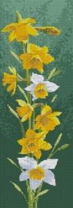 Схема Нарциссы панель / Daffodils panel