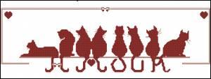 Схема Восемь котят