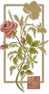 Схема Отражение. Роза
