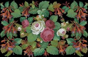 Схема Ретро розы