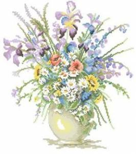 Схема Букет из цветов