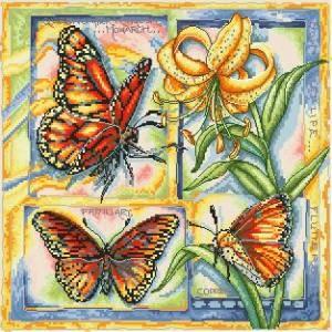 Схема Серия — насекомые (Бабочки)