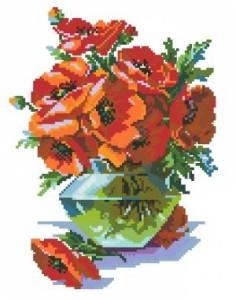 Схема Маки в вазе (вариант 2)