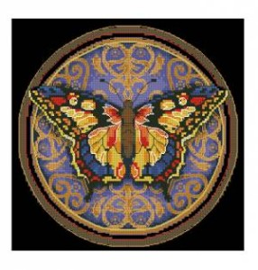 Схема Изысканная бабочка / Ornate Butterfly