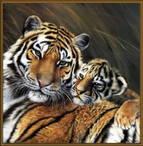 Схема Тигрица с тигренком