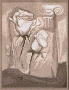 Схема Розы и колонна / Rozata