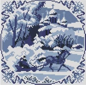 Схема Зимние сны / Blue Dreams Winter