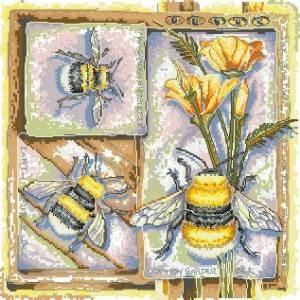 Схема Серия — насекомые (Пчелка)