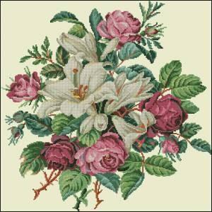 Схема Цветочный букет