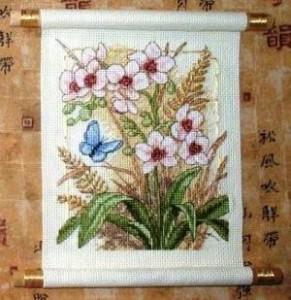 Схема Азия цветёт / Asian Blossoms