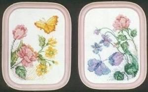 Схема Мотыльки на цветах