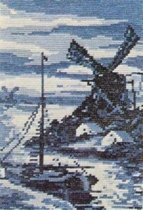 Схема Пейзаж / Wiehler 3211 Delfter Landschaft