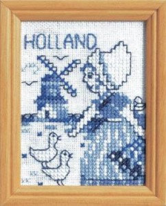 Схема Голландский пейзаж / Scene of Holland