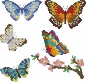 Схема Пять бабочек