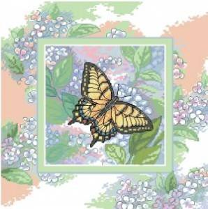 Схема Порхание бабочки / Butterfly whisper