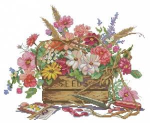 Схема Весенний букет