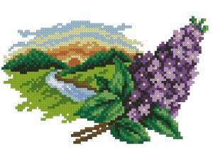 Схема Цветочный календарь. Апрель