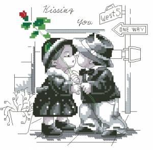 Схема Поцелуй / Kissing You