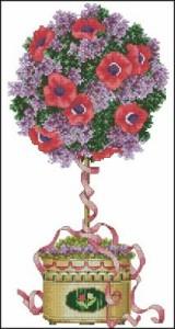 Схема Весеннее дерево, топиар
