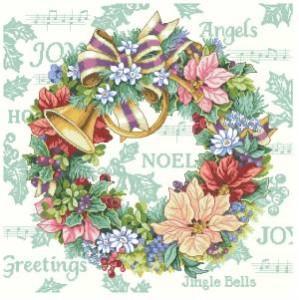 Схема Венок праздник гармонии / Holiday harmony wreath