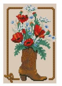 Схема Букет ковбоя / Cowboy bouquet