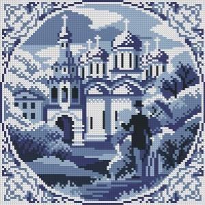 Схема Осенние сны / Blue Dreams Autumn