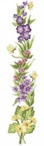 Схема Полевые цветы (панель)